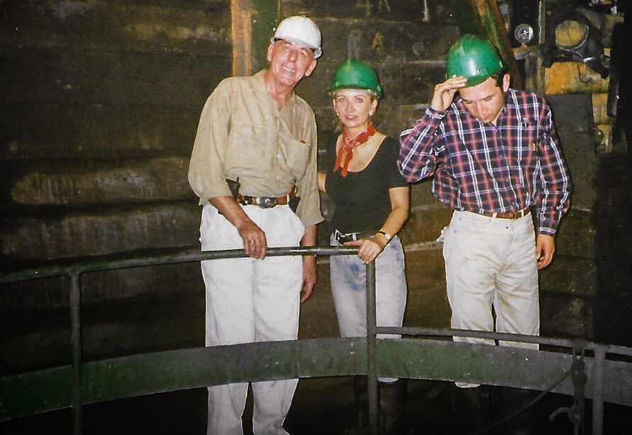 Kolumbien-Muzo-Mine-suche-nach-smaragd