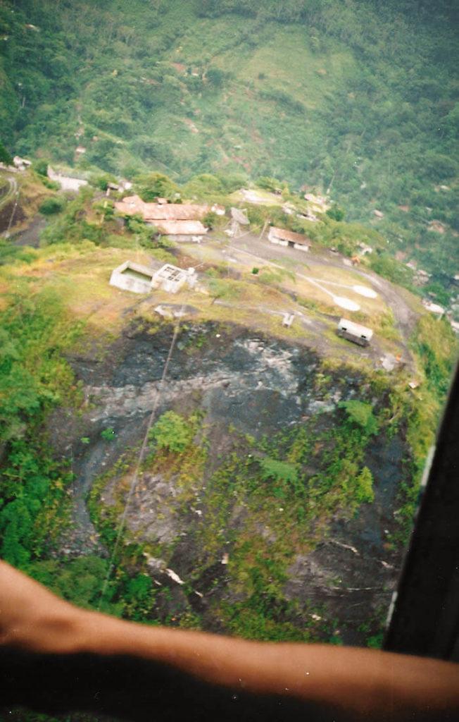 Muzo-Mine-Kolumbien-flug