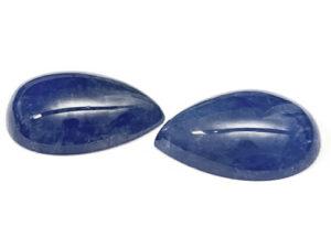 Tansanit-Paar 66,28 ct. Alle Edelsteine kaufen Schmucksteine Edelsteine