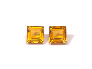 Citrin-Paar 9,64 ct. Alle Edelsteine kaufen Schmucksteine Edelsteine