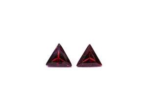 Rhodolith-Paar 1,53 ct. Rhodolith kaufen Schmucksteine Edelsteine 3