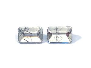 Turmalinquarz-Paar 13,91 ct. Alle Edelsteine kaufen Schmucksteine Edelsteine