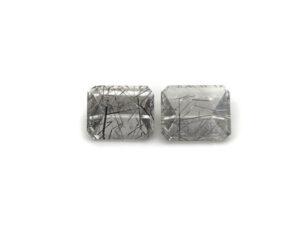 Rutilquarz-Paar 6.07 ct. Alle Edelsteine kaufen Schmucksteine Edelsteine