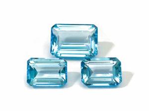 Blautopas-Set 42.85 ct. Blautopas kaufen Schmucksteine Edelsteine 3