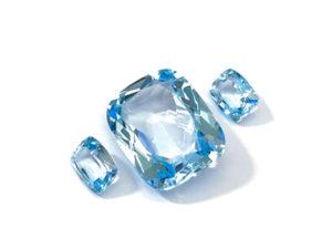 Blautopas-Set 21.37 ct. Blautopas kaufen Schmucksteine Edelsteine