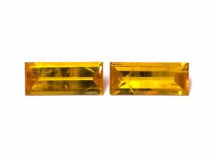 Beryll-Paar 12.42 ct. Alle Edelsteine kaufen Schmucksteine Edelsteine