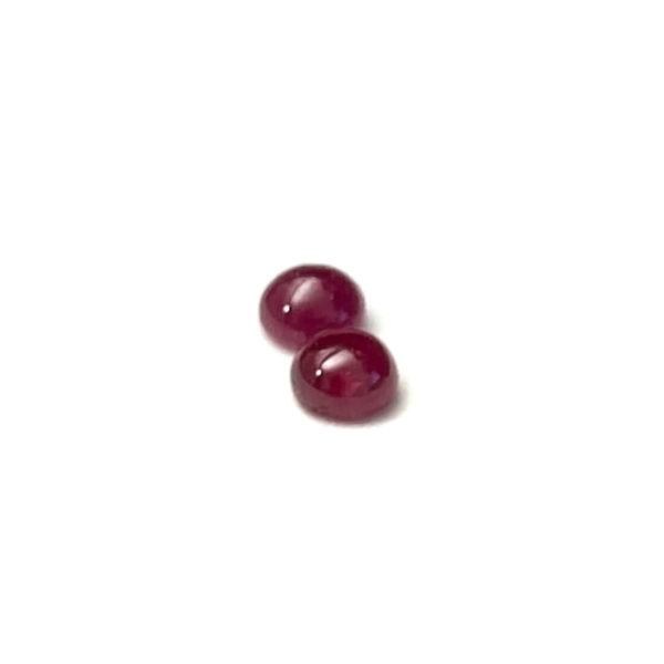 Rubin-Paar 1.78 ct. Rubin kaufen Schmucksteine Edelsteine 5