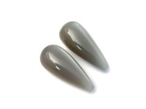 Mondstein-Paar 19.52 ct. Alle Edelsteine kaufen Schmucksteine Edelsteine 3